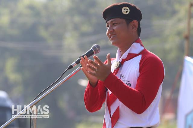 Plt. Bupati Trenggalek, Nur Arifin : Senang Bisa Terlibat Lagi dalam Lokakarya Kampung Kelir
