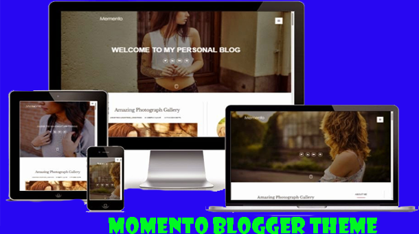 Momento Fashion Responsive Style - Responsive Blogger Template