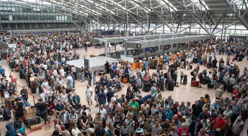 Aeroporto Amburgo: blackout per un guasto irrisolvibile all'impianto elettrico