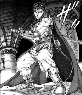 Berserk, Edad Dorada, Guts, lider de escuadrón