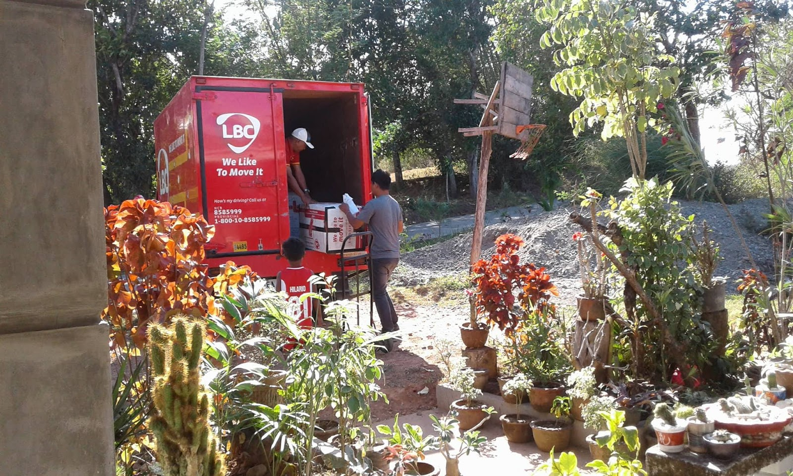 Balikbayan Box LBC Express