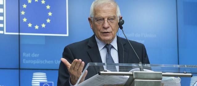 Μπορέλ: «Οι τουρκικές γεωτρήσεις στη Μεσόγειο βασικό θέμα των υπ.Εξωτερικών της ΕΕ»