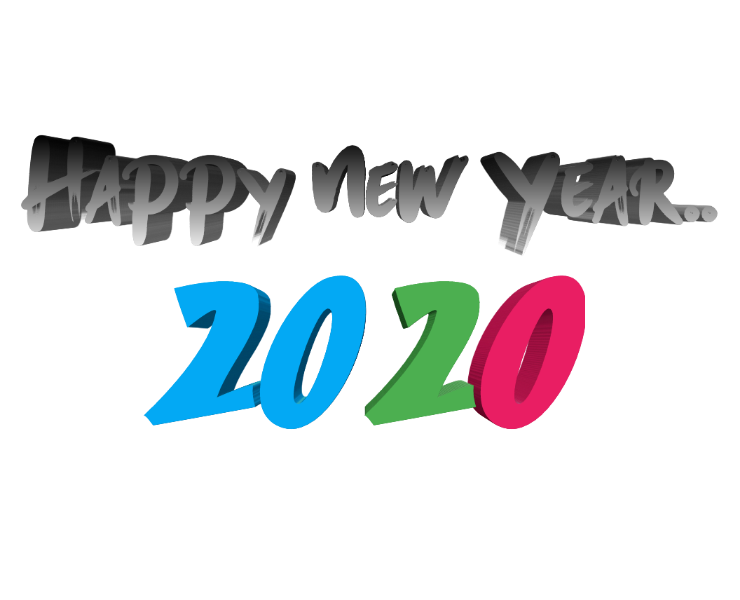 Happy New Year 2020 Png Icon Background Transparent Images