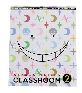 """Reseña de """"Assassination Classroom 2º temporada, Parte 1"""" Ed. Blu-Ray Coleccionista - Selecta Visión"""