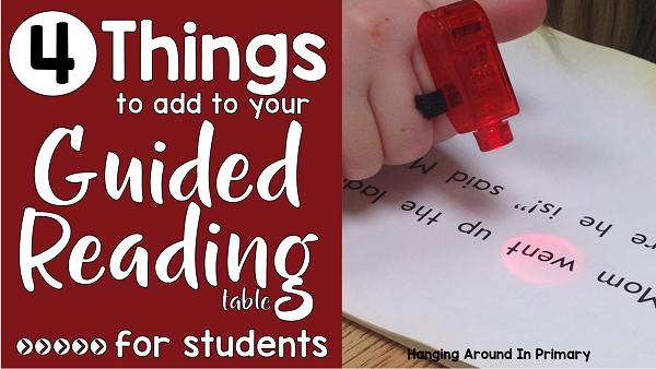 Get your students excited about guided reading by using tools and tricks to increase engagements. Students will be excited to come to the guided reading group to use finger lights, reading phones and mini whiteboards.