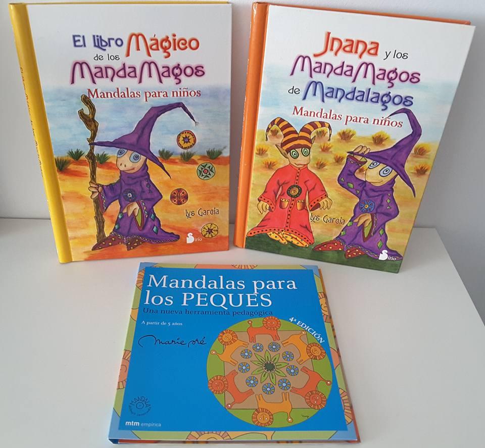 Creciendo con libros y juegos: LIBROS DE MANDALAS PARA NIÑOS