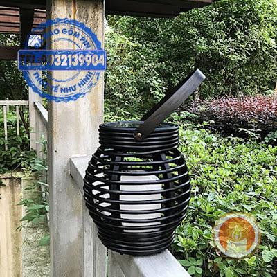 Lồng đèn nến treo sử dụng năng lượng mặt trời