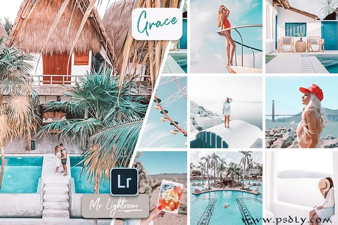 Grace Lightroom Presets Creativemarket 3429325