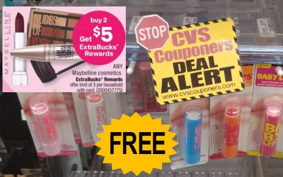Maybelline Baby Lips CVS Freebie 11/15-11/21