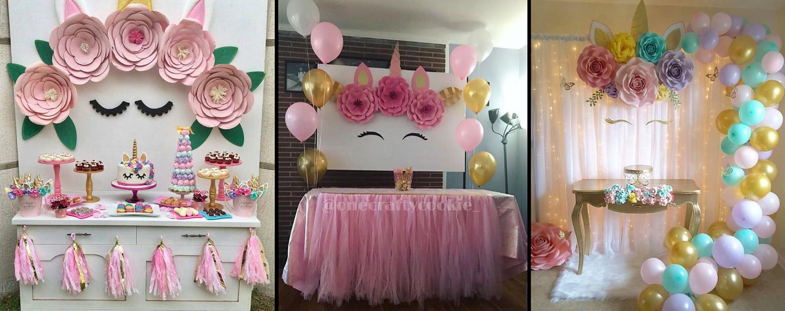 Como Fazer Uma Festa De Aniversário Com Tema Unicórnio Sem Gastar