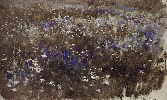 Исаак Ильич Левитан - Цветущий луг. 1890-е