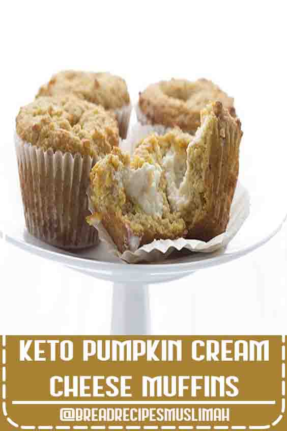 Starbucks ain't got nothing on the keto diet! These delicious keto Pumpkin Muffins are just like those from the popular coffee chain, except so much healthier! They are one of my most beloved low carb muffin recipes. Tender pumpkin muffins with a creamy sugar-free center. #pumpkinmuffins #ketorecipes #starbucks #pumpkinrecipes #sugarfree  #Sweet #Bread #Recipes #desserts #cream #cheeses