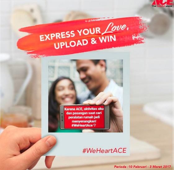 Kontes Foto ACE Hardware berhadiah voucher belanja ACE Indonesia senilai 2 juta rupiah