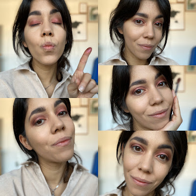 tuto maquillage tons rose huda beauty