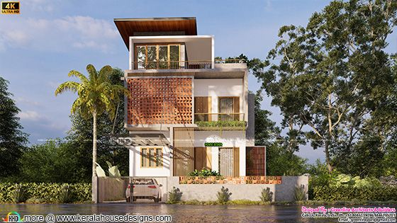 Contemporary style front view design