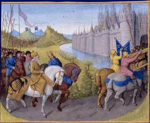 Second Crusade enters Constantinople Byzantium.filminspector.com