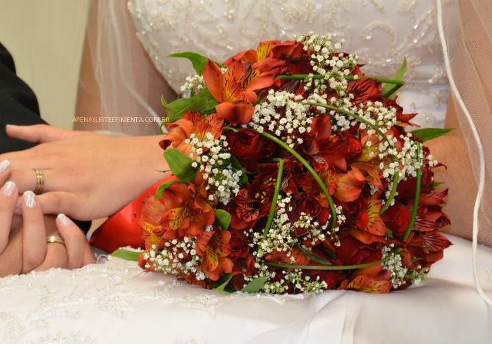 buquê de flores noiva