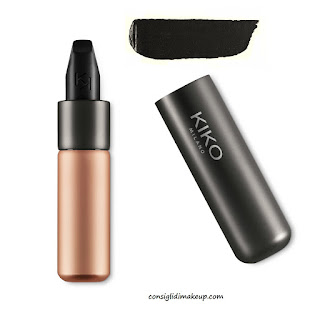 black crazy color velvet matte kiko