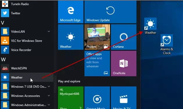 Cara Membuat Shortcut Aplikasi UWP Windows 10-1-1