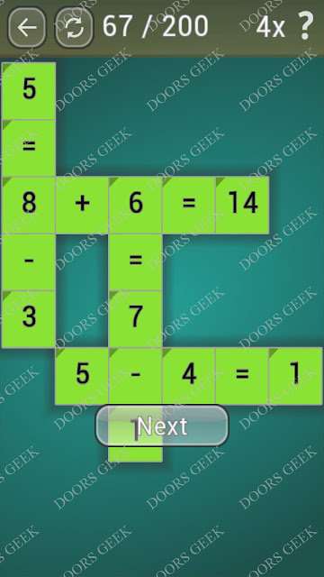 Math Games [Beginner] Level 67 answers, cheats, solution, walkthrough for android
