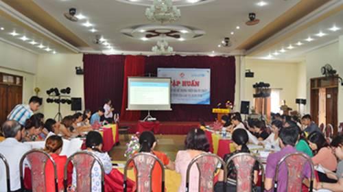 Tập huấn phân phối và sử dụng viên đa vi chất cho 2 tỉnh Gia Lai và Kon Tum