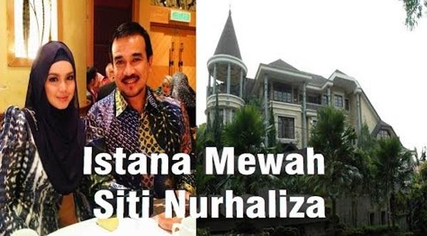 Intip 'Istana' Mewah Siti Nurhaliza Di Malaysia Wow...! Bikin Melongo