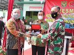 Bupati dan Wabup Hadiri Acara Peresmian Koramil 419-03 Tungkal Ilir Kodim 0419 Tanjung Jabung