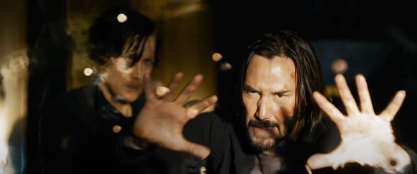 Warner Bros показала трейлер фантастического боевика «Матрица 4: Воскрешение» - Нео и Тринити вернулись