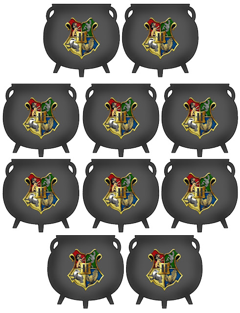 Hogwarts Cauldron Printable