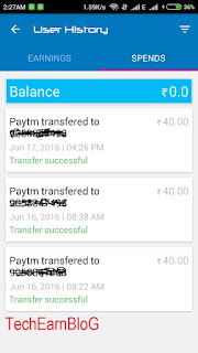 Free Paytm Cash trick-TechEarnBlog