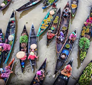 Pasar Terapung Siring Martapura