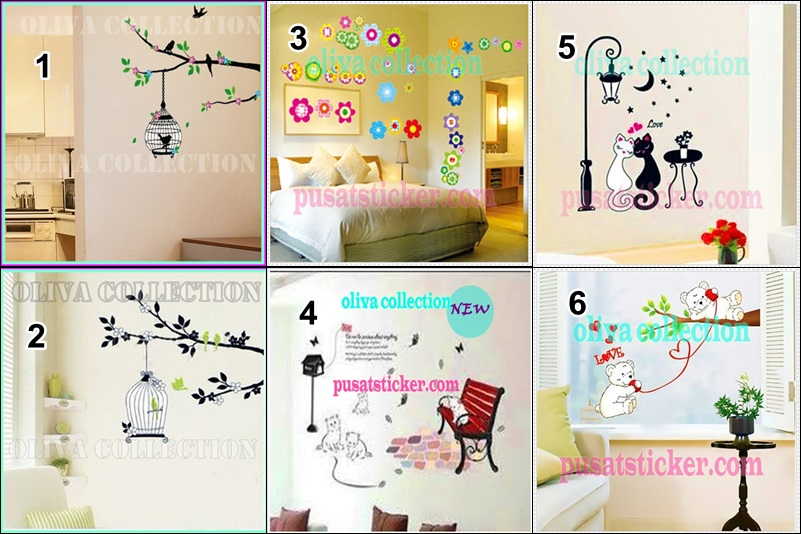jual wall sticker di kota medan - wa 08979910278 - stiker dinding murah