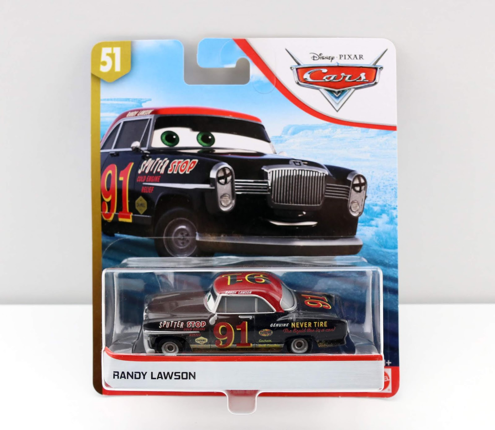 Cars 3 Randy Lawson diecast review