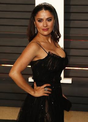 Actress Salma hayek hair color photos 2019