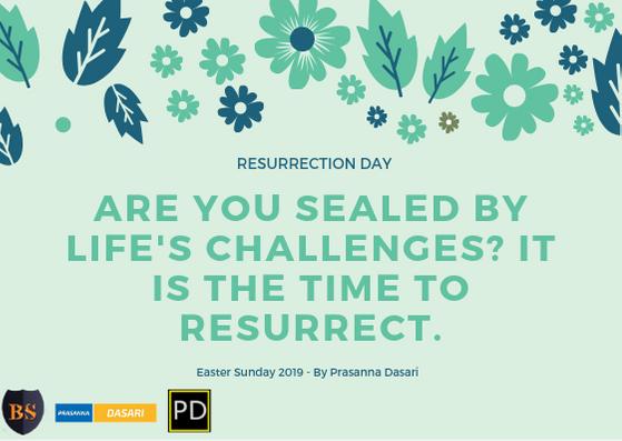 Resurrection Day - Prasanna Dasari