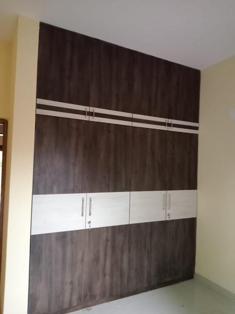 Storage space cabinet design in Goa house