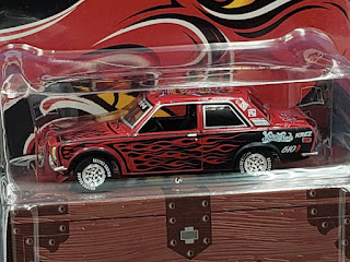 GREENLiGHT  Hells Dept Exclusive DATSUN 510 TENGU