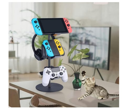 KELJUN PS5 Multi Adjustable Game Controller Stand 3 Tier