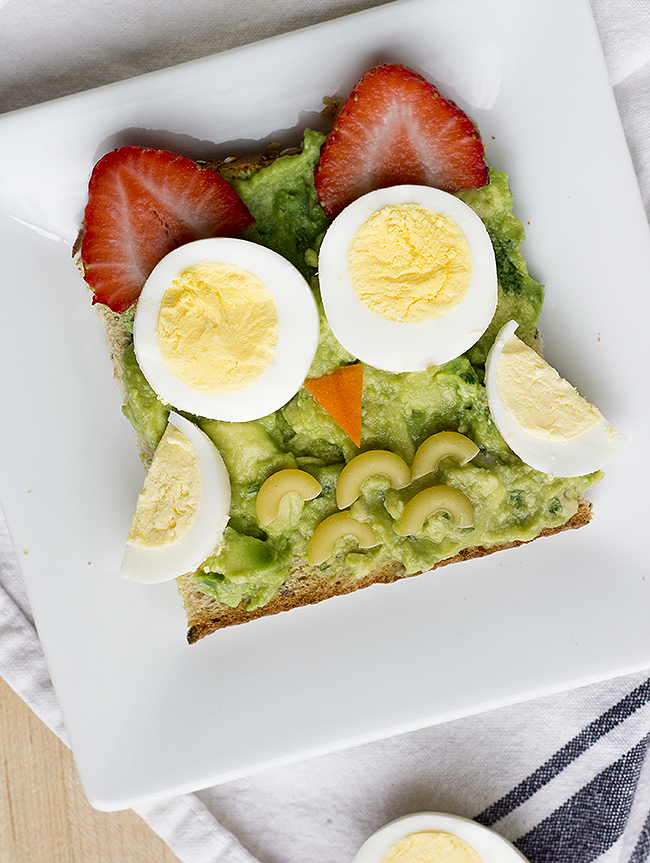 Owl Avocado Toast