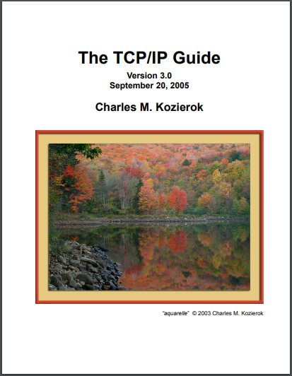 Electronic Note The Tcpip Guide Version 3 0
