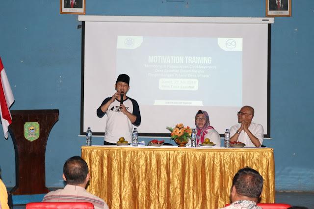 Wabup Nur Arifin Isi Motivation Training Tentang Pengembangan Desa Wisata Sawahan