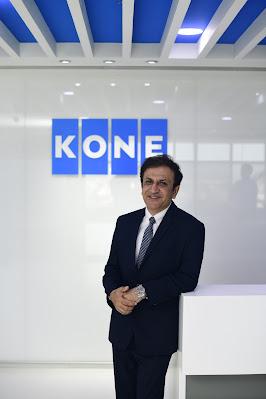 Amit Gossain, MD, KONE Elevator India