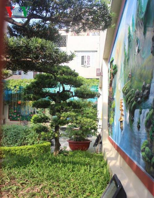 khuôn viên dinh thự nhà Bí thư Huyện ủy Duy Tiên