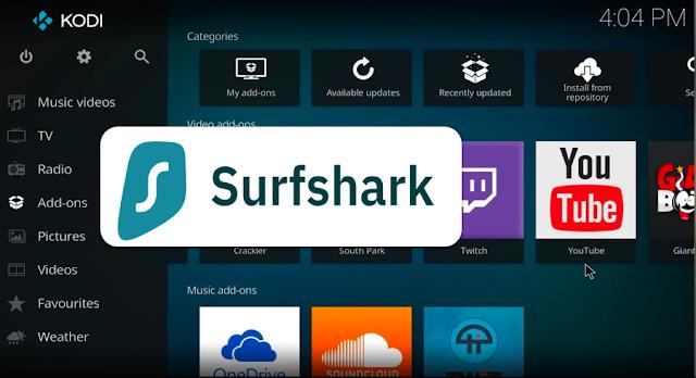 KODI mit Surfshark VPN