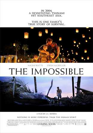 The Impossible 2012 BRRip 720p Dual Audio In Hindi English