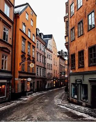 مدينة جاملا ستان فى السويد .. ( Gamla Stan )