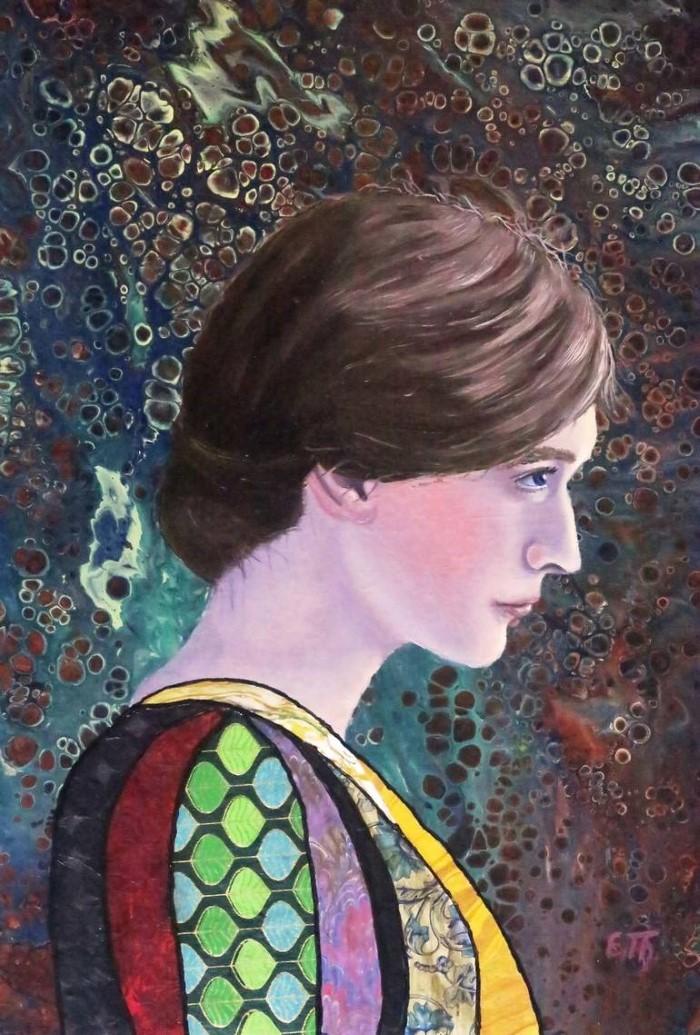 Насыщенные цвета. Elke Thiebaut