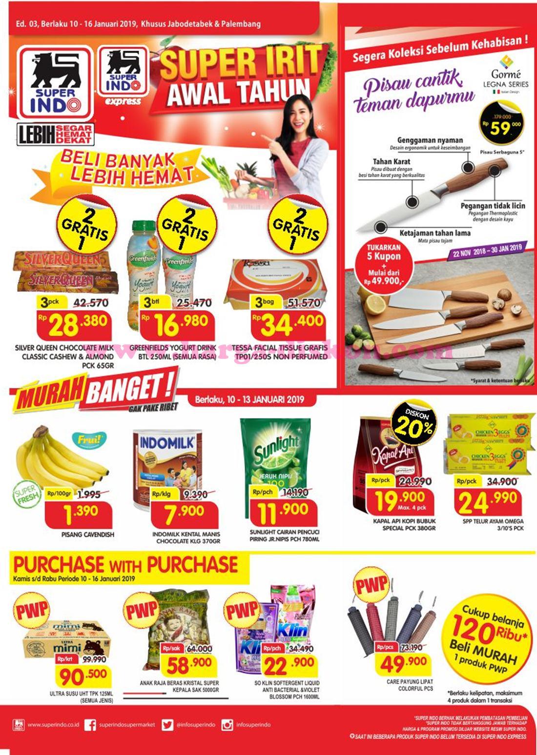 Katalog Promo Superindo 10 16 Januari 2019 Harga Promo
