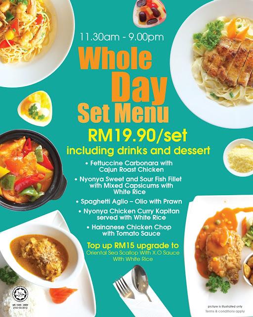 Delicious Set Menu at Ixora Hotel Penang Penang Blogger Influencer