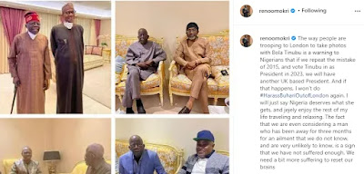 """""""Do Not Dare To Vote Tinubu In For President 2023, Or We Will Have Another UK Based President"""" - Reno Omokri"""
